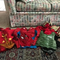 Toddler's assorted costumes