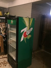 Commercial 7UP cooler