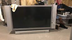 "52"" toshiba dlp tv. Dlp ball inside was just replaced a year ago. Tv works perfect, come and get it."