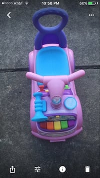 purple, pink, and blue ride-on toy car screenshot St. Clair Shores, 48080