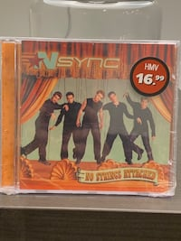 Nsync CD Sealed Caledon, L7E 1C8
