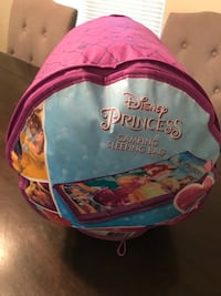 New Disney Princess Sleeping Bag