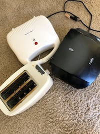 Sandwich maker, Grill and bread toaster at throw away price