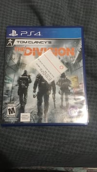 The Division PS4 game case Chesterfield, 23832