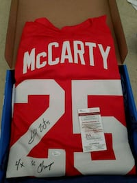 Signed Darren Mccarty Red Wings Jersey Groton, 06340