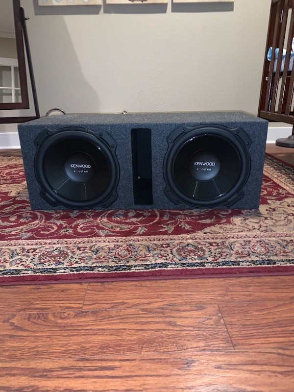2 12 inch kenwood excelon subs