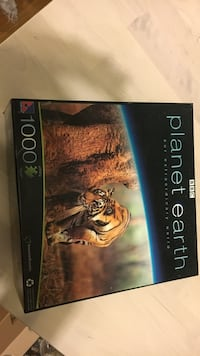BBC Planet Earth jigsaw puzzle box Vancouver, V5T 2A3