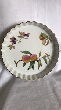 Royal Worcester dish Gold plated