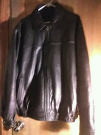 Mans extra large Lether jacket by colebrook Piedmont, 29673