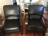 Leather recliner chairs Surrey