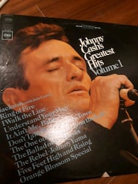 Johnny Cash ‎– Greatest Hits Volume 1  1967 amerika baskı lp