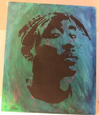 2pac acrylic painting 20X28 Washington, 20024