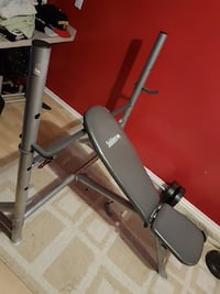 """Sublime"" workout bench  Calgary, T3J 4Z2"