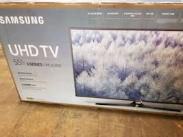 "TV 55"" SAM.SMART 4K NEW"