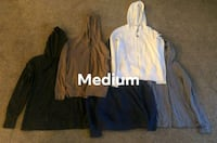 Medium name brand hoodies Woodbridge, 22191