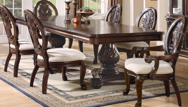 Brown and gray Dining Set