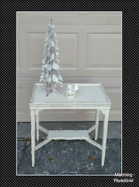Solid wood shabby side table nightstand  Springfield, 65807