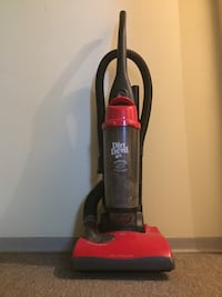 Dirt Devil vacuum, with multiple piece that attaches to it, and light from the front, no dust coming out, super long wire Edmonton, T6G 1R4