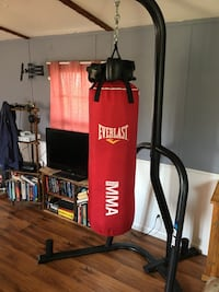 Everlast MMA punch bag with stand. Chuckey, 37681