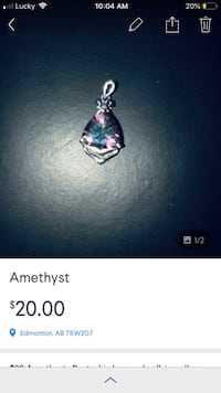 REDUCED TO SELL Pendant