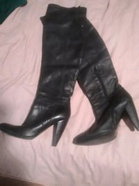 size 8 leather boots Mississauga, L4W 2H7