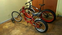 red and black BMX bike Chicago, 60625