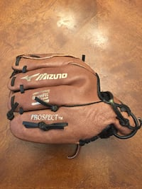 "Mizuno Prospect Youth Baseball Glove, Brown, 10"" Sterling, 20165"