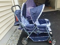 baby's purple and white stroller Ashburn, 20148