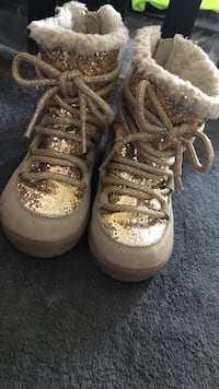 Sequin high top boots for girls  New York, 10454