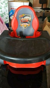 Cars booster chair Mustang, 73064