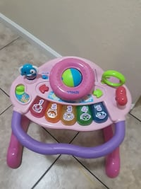 baby's pink and purple VTech learning walker Salinas, 93906