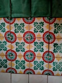 white, red, and green floral textile Las Cruces, 88012