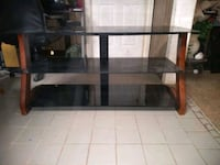 glass top TV stand, coffee table,2 end tables  Marietta, 30060