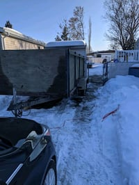 I have a 16 foot enclosed car trailer with a pickup truck. willing to do any and all jobs related. cars, moving cleaning.  Edmonton