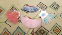 Set of 4 Tutus  41 km