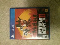 Red dead redemption 2 ps4  Mississauga, L5W 1K8