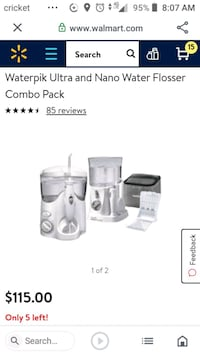 Waterpic Ultra and Nano Water Flosser