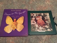 Anne Geddes-Hardcover-Baby Photo Album & Down in the Garden Book Saint Charles