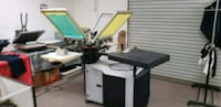 Complete screen printing equipment  Palmdale, 93550