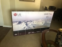 65 in 4K LG tv - brand new Tomball, 77375