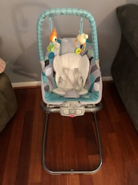 baby's gray and white portable swing Gaithersburg, 20878