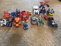Transformers 15 pieces  Cupertino, 95014