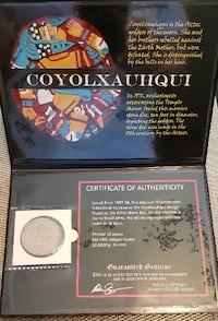 """Coyolxauhqui """"Aztec Goddess of the Moon"""" Gallatin"""