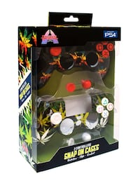 Play Station 4 2in1 snap on case. (Leaf&multi lead design) bnew Los Angeles, 91406