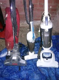 11 vacuum cleaners and 1 steam mop