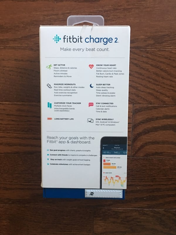 Fitbit Charge 2 8328614e-a21b-41fe-a5a2-fde483910820