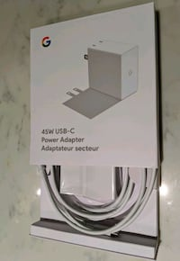 New - 45W USB-C Power Adapter from Google