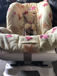 white and pink floral fabric sofa chair Leesburg, 20175