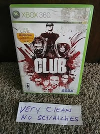 The Club Xbox 360 game case
