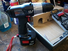 Craftsman cordless drill & accessories